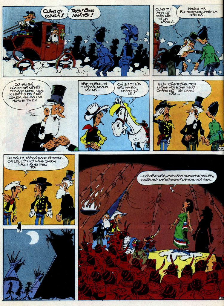 Lucky Luke tập 40 trang 42