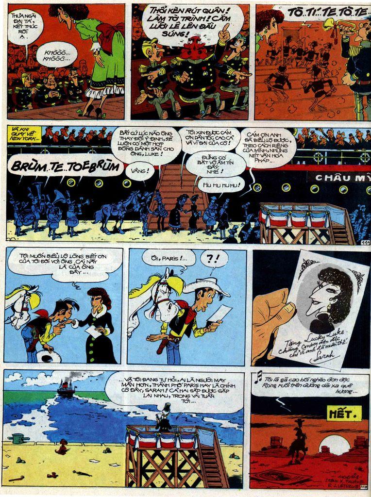 Lucky Luke tập 40 trang 44