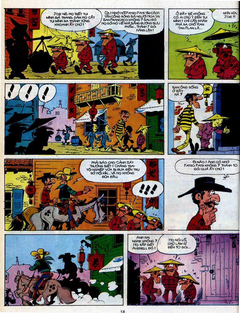 Lucky Luke tập 39 trang 16