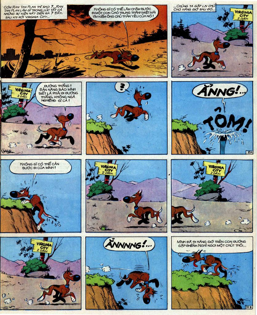 Lucky Luke tập 39 trang 33