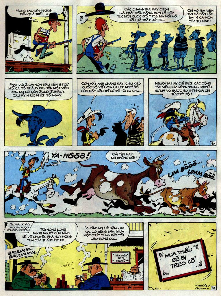 Lucky Luke tập 38 trang 9