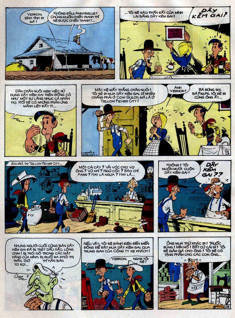 Lucky Luke tập 38 trang 11