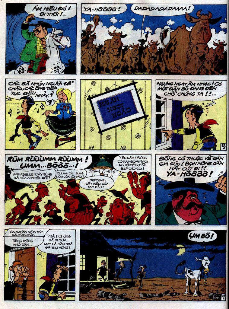 Lucky Luke tập 38 trang 22