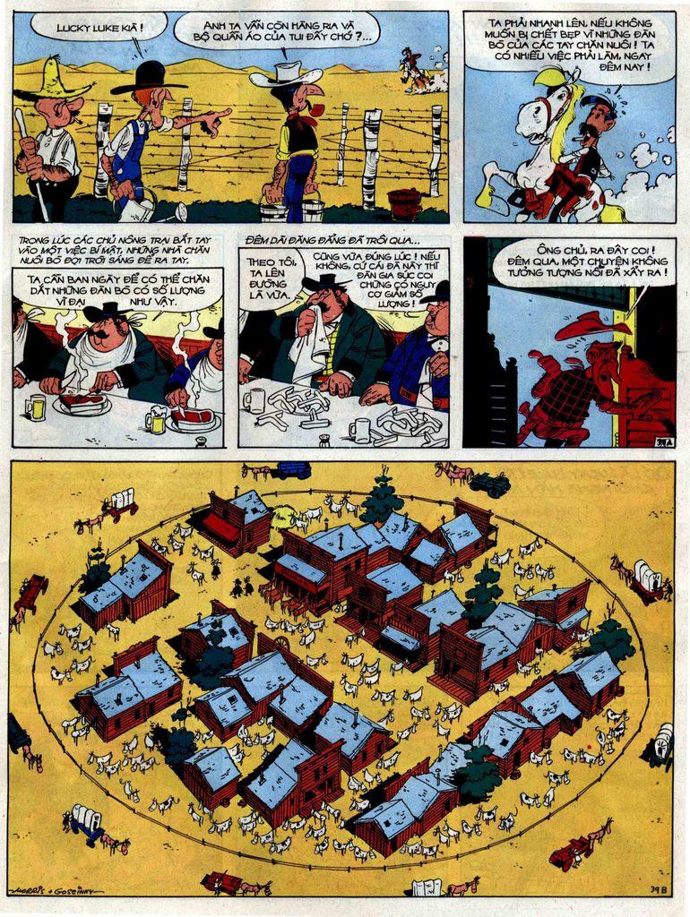 Lucky Luke tập 38 trang 39