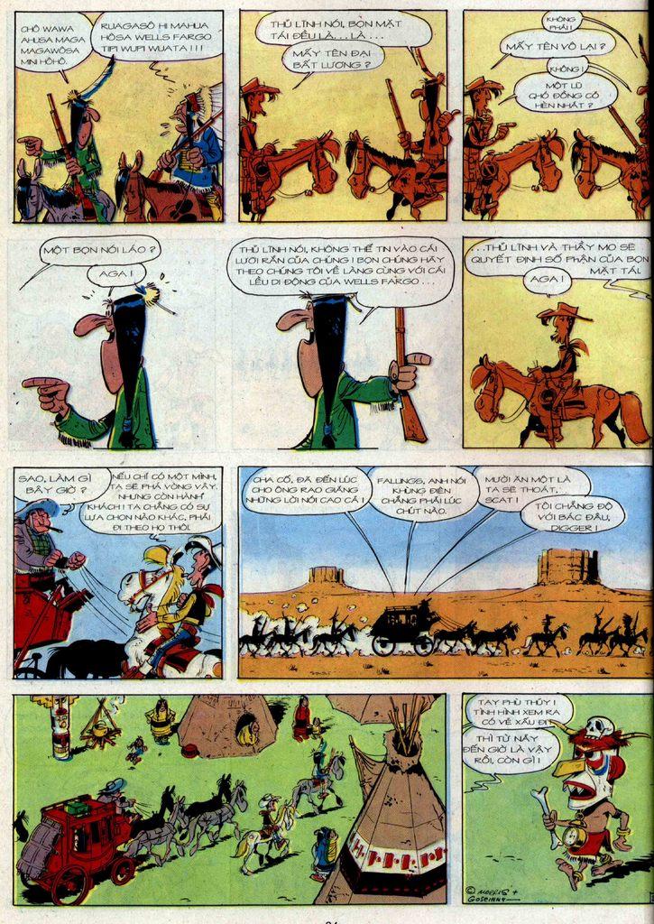 Lucky Luke tập 36 trang 22