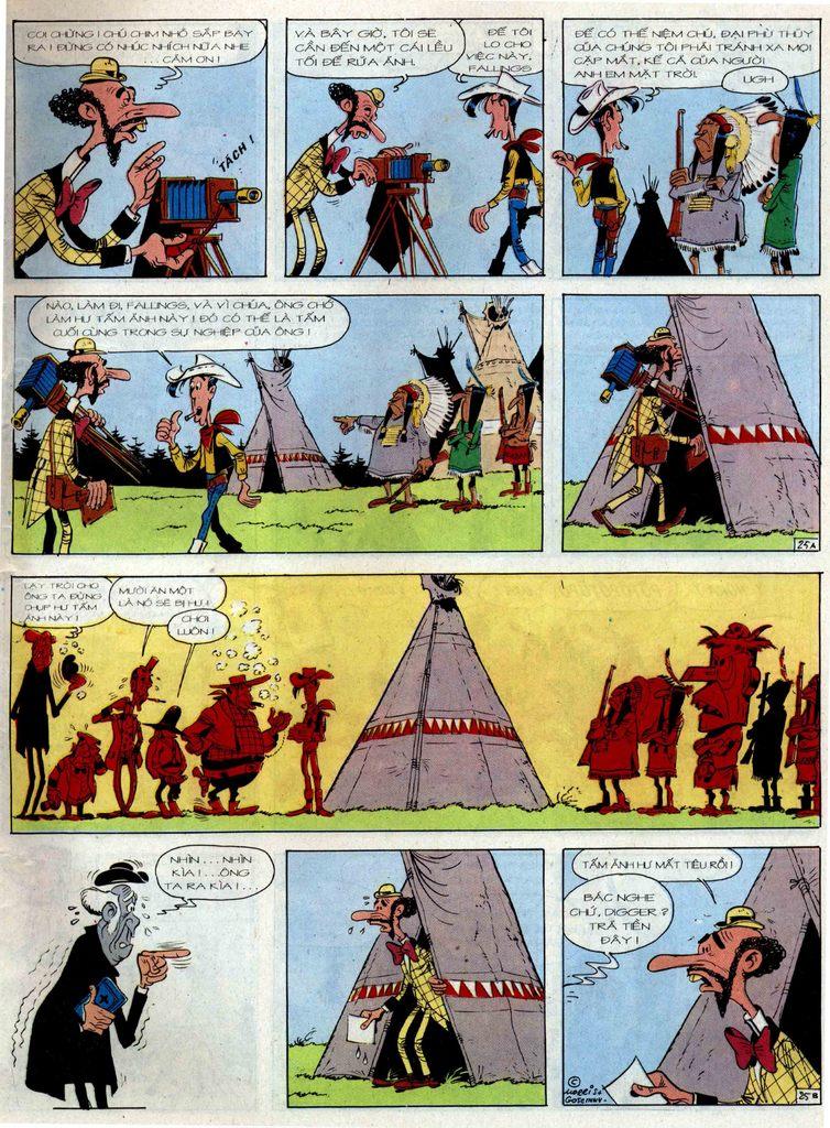 Lucky Luke tập 36 trang 25