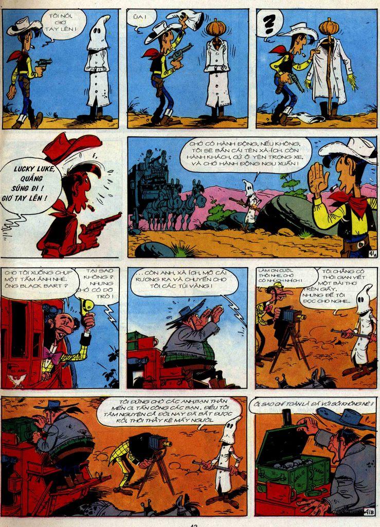 Lucky Luke tập 36 trang 41
