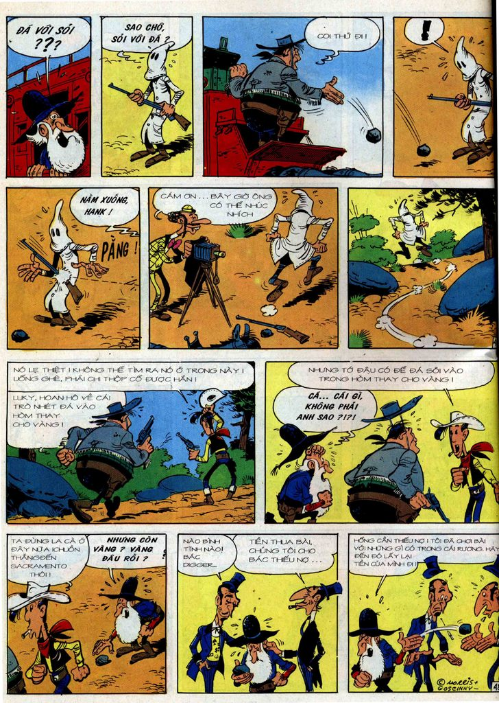 Lucky Luke tập 36 trang 42