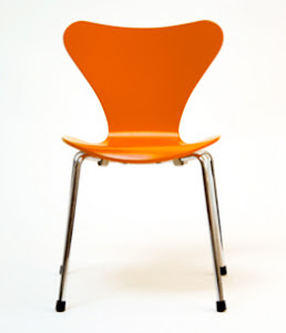 The Orange Thinking Chair