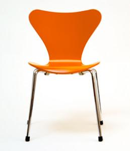The Orange Thinking Chair