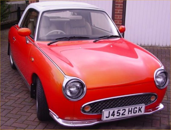 Nissan Figaro 1989 Japanese Classic Car images and Review ...