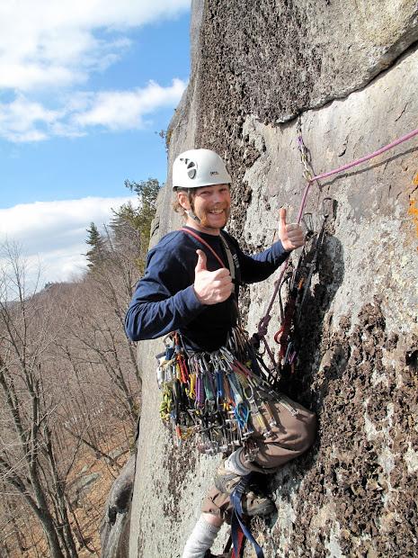 Climbing Fun. Aid