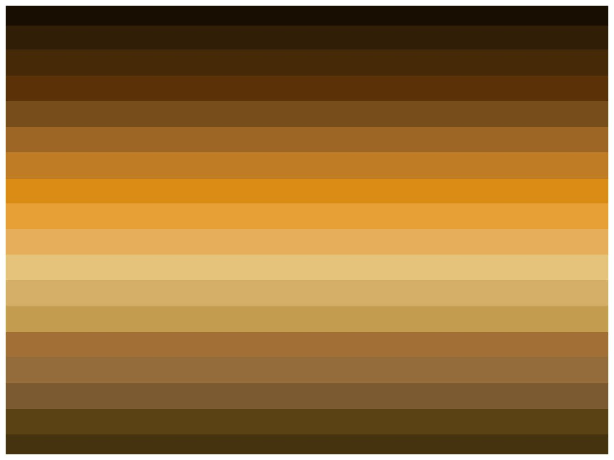 Weddings in Victoria Colour Palettes: Brown Palette