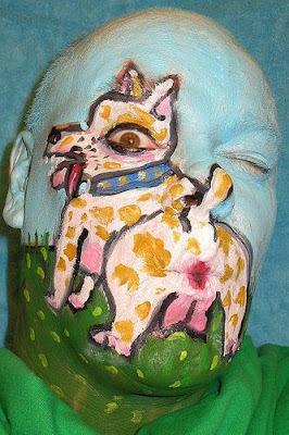 Perro pintado