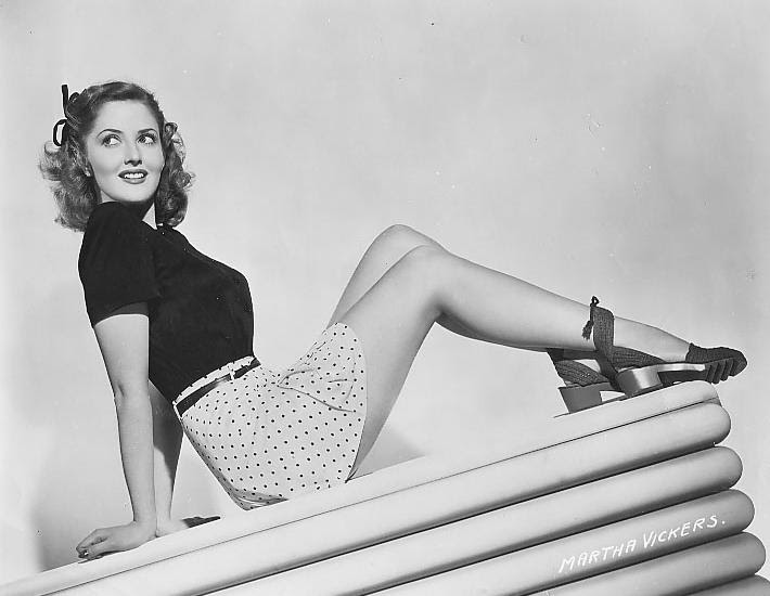 Crazy Days and Nights: Martha Vickers' Daughter Is A Little Upset With Me