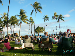 Outdoor Movies at the Hawaii International Film Festival in Waikiki