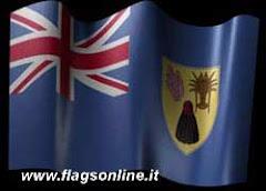 turks &; caicos   y su bandera