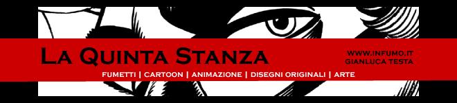 | LA QUINTA STANZA | fumetti | cartoon | animazione | disegni originali | arte |