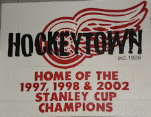 Well, It Looks Like The Walls At The Joe Louis Arena Will Have To Be Re-Painted Now!!!