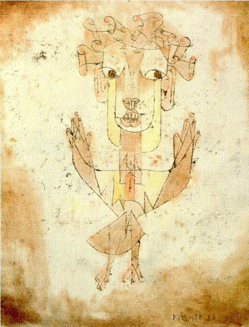Angelus Novus dipinto di Paul