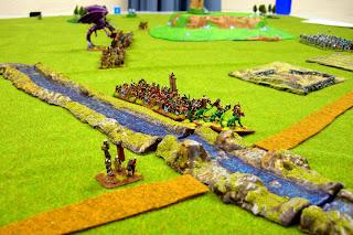 Warmaster Downunder: Battle Report - Chaos vs High Elves