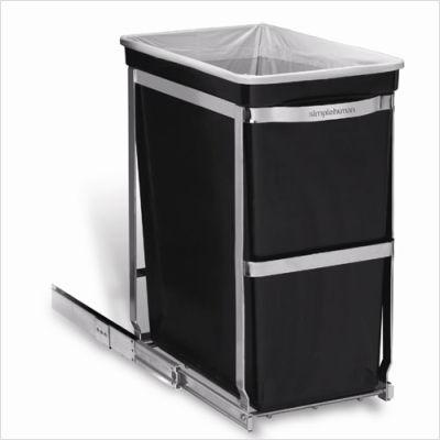 Reminisce...: under-sink trash can