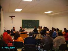 Sesión formativa con Director Espiritual en el Seminario