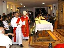 1ª Visita Pastoral de D. José a la Parroquia