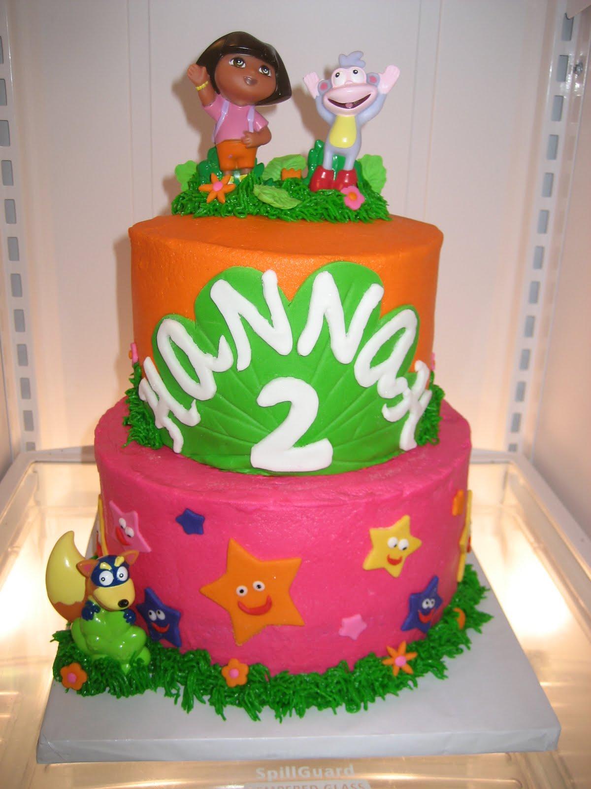 Ashley's Cakery: Dora the Explorer Cake