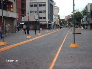 Boulevard Sabana Grande vista hacia el Este