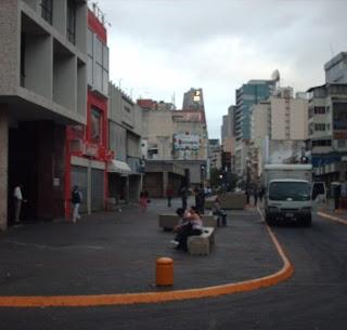 Boulevard Sabana grande vista hacia el Oeste