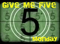 Give Me Five Monday #2 – Shopping