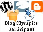 The BlogOlympics have begun!