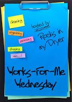 Works For Me Wednesday #2 – Calendar fun