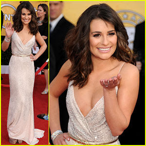 lea michele sag awards 747412 Best & Worst   2011 SAG Awards=