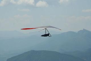 hang glider laragne