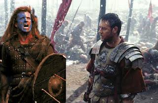 Braveheart vs gladiator