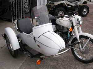 Sidecar with turn signal