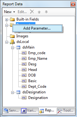 Tips and Tricks for SQL-BI: Report Parameters in SSRS 2008