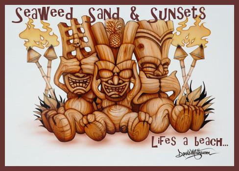 Seaweed, Sand & Sunsets
