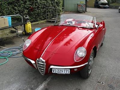 1955 Alfa Romeo Giulietta Spider. Alfa Romeo