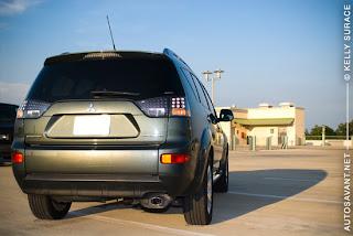 2008 Mitsubishi Outlander SE Review - Autosavant