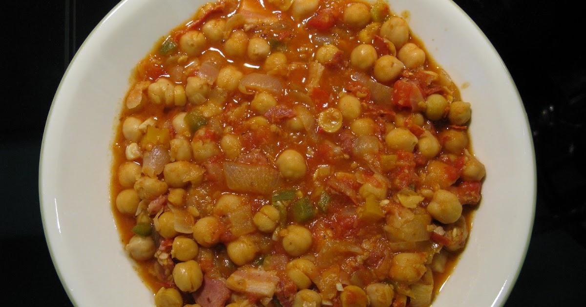 Recetas de familia garbanzos con chorizo for Cocinar garbanzos con chorizo