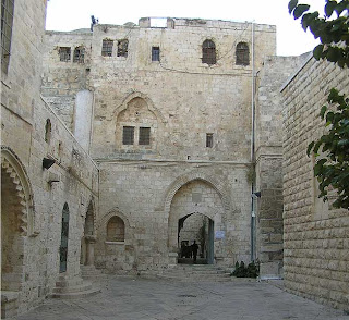 The Cenacle is the last standing portion of a Byzantine and Crusader Church heir to the primitive Apostolic Church (Acts 2-15).