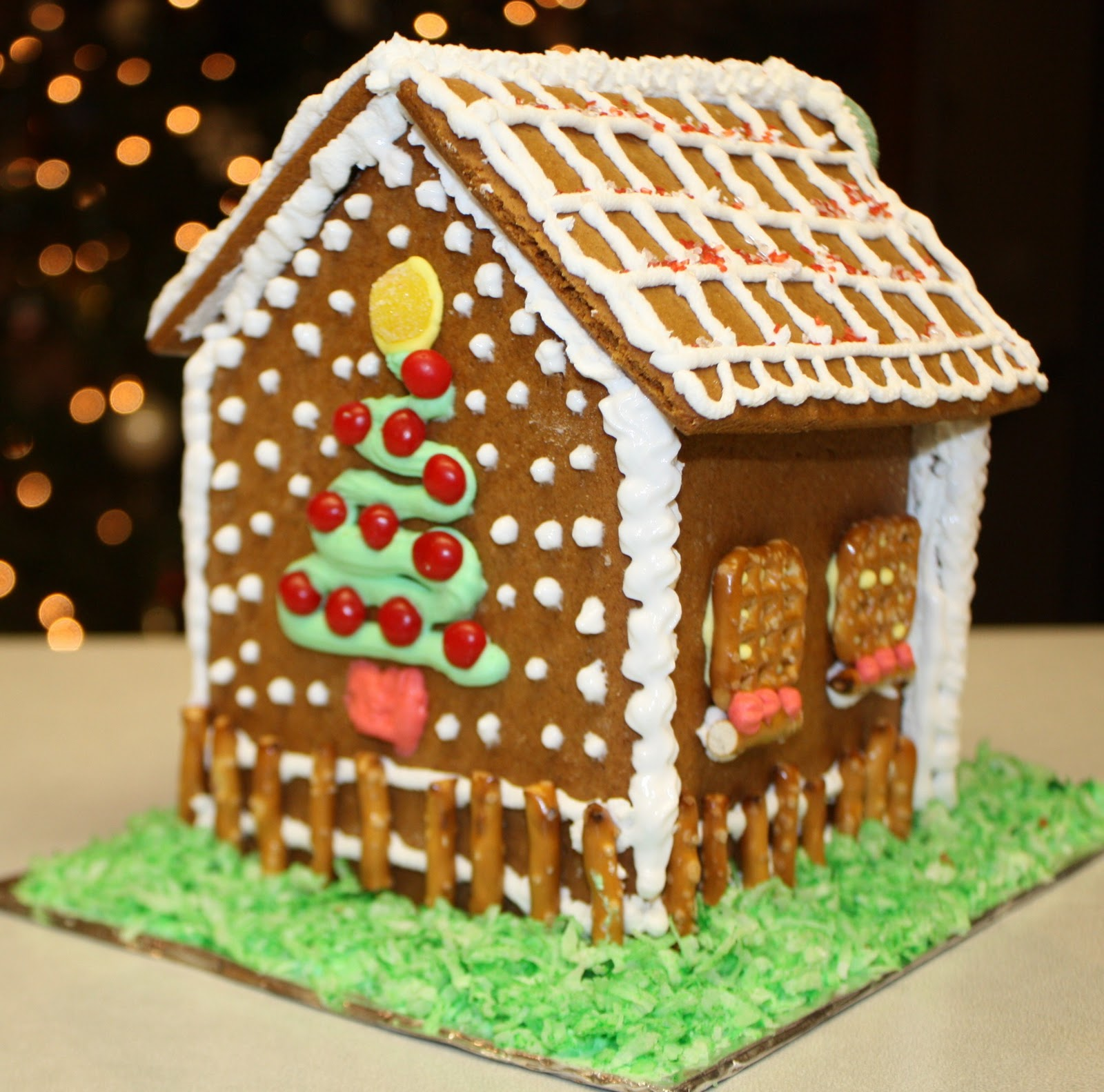 Everyday Cookies: Look At What We Built! Gingerbread Houses