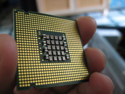 Processor untuk socket 775 tiada pin langsung!