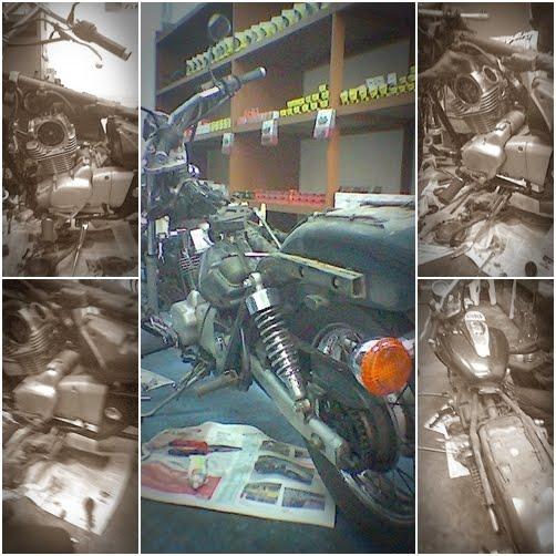 Modenas Jaguh 175 - Valve Bengkok!