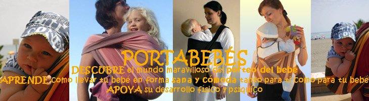 Llevar al bebé - portabebés: fulares, podaegis, mei tais, bandoleras