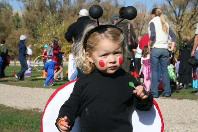 """Allie bug"" at Halloween"