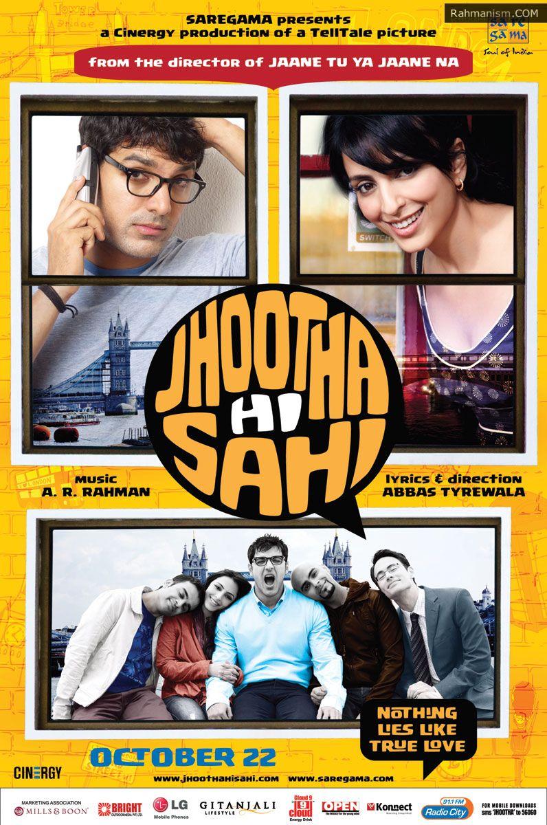 Jhootha Hi Sahi (2010) Hindi Movie DVDRip Download 720P 300MB